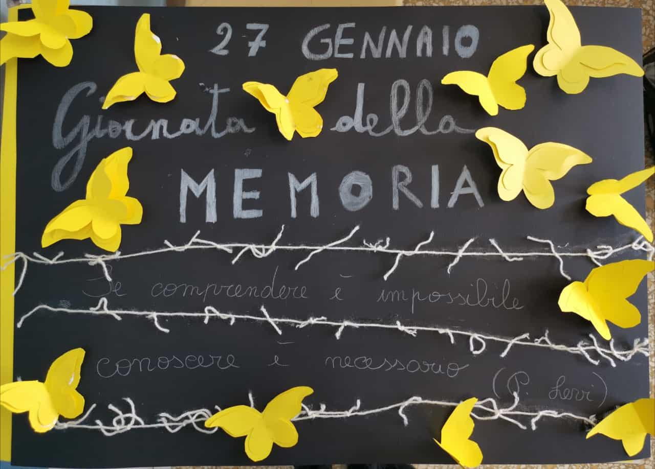 Giorno della Memoria - Classe 3^A - Sc. Primari...